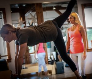 Janelle Biggs, Owner of Bells Pilates in Fairfield CT private training